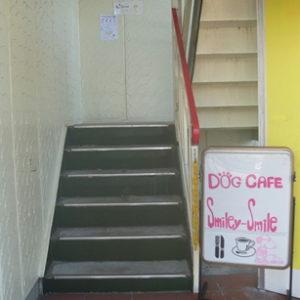 店舗への入り口